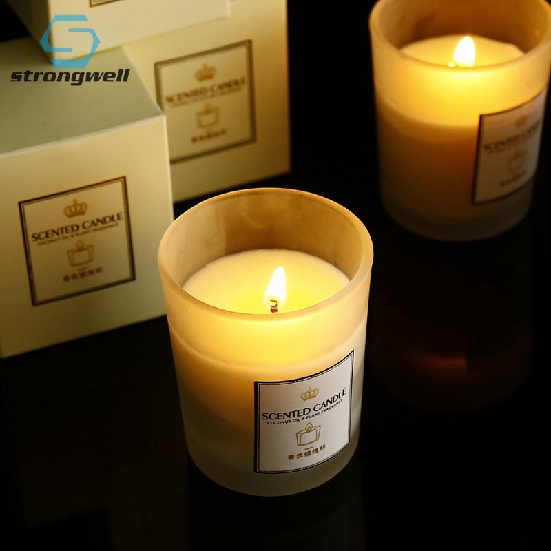 Nórdicos perfumada velas, decoración para el hogar, Accesorios, vela pastel de cumpleaños de Navidad de la boda decoración regalos de artesanía