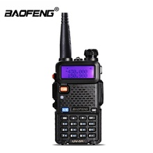 Portable Baofeng <span class=keywords><strong>BF</strong></span> UV-5R UV5R Talkie Walkie FM Interphone Radio Gratis PTT Earphone