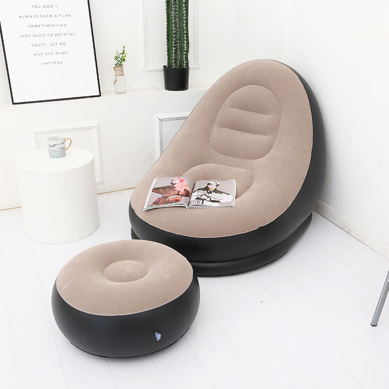 New inflatable lazy sofa chair giant inflatable furniture living room sofa inflatable pvc sofa