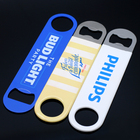 Cheap Sublimation Souvenir Bar Bulk Blank Metal Stainless Steel Card Beer Customized Bottle Opener