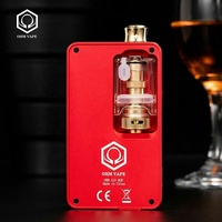 Original design Huge vaping device all in one design Hexohm variable wattage hex ohm box mod Hexohm vape eCigarette