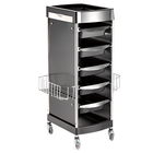 X11-E Wholesale customization deluxe beauty salon drawer storage trolley rolling utility cart