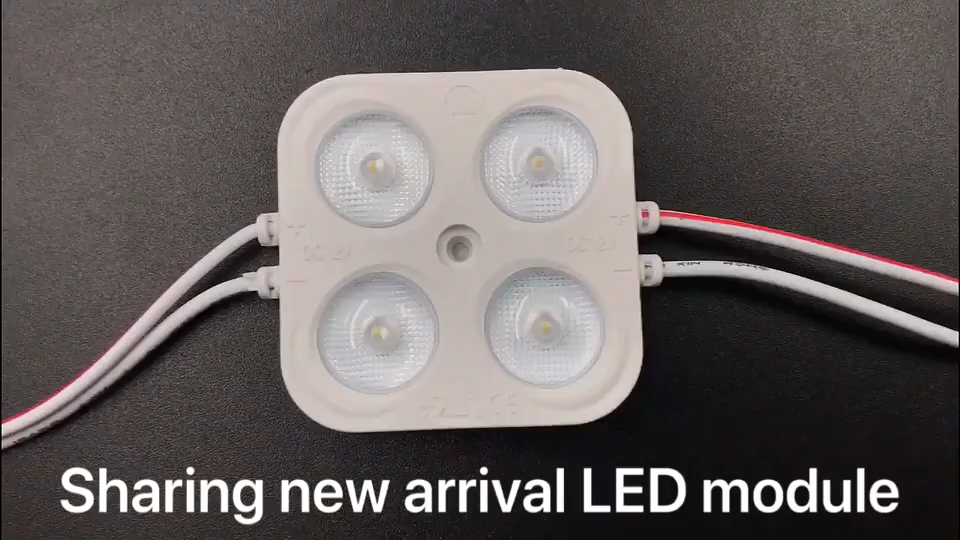 Led de alta potencia de la luz 3w 180 grado ángulo de la lente módulo smd 2835 led 12v dc