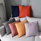 Comfortable Linen Silk Throw Pillows For Sofa