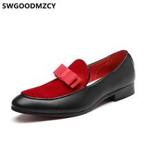Мужские модельные туфли; Лоферы; Черные мужские туфли; Итальянская Свадебная обувь для мужчин; 2020 Zapatos Oxford Hombre Sapato Social Masculino Buty(China)