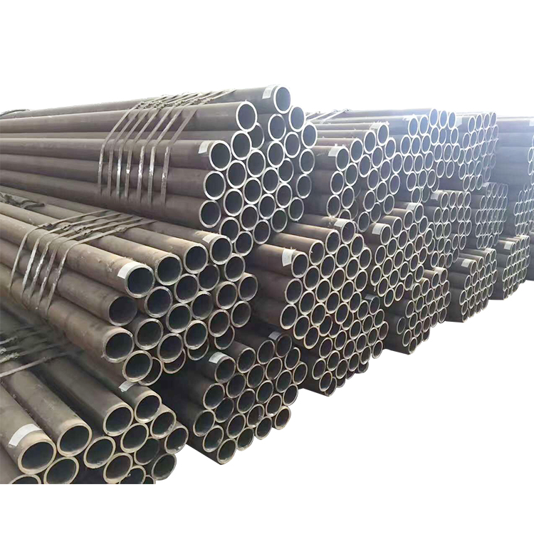 ST52 Hot Rolled Seamless Steel Pipe