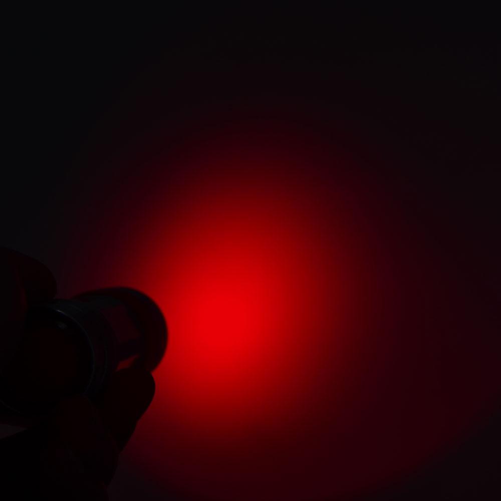 โลโก้ที่กำหนดเองสแตนเลสProfessionalการล่าสัตว์ 660nm + 850nm IRเลนส์อินฟราเรดไฟฉายLEDไฟฉายNight Vision
