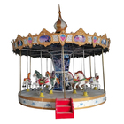 Amusement park carousel kids carousel horse rides carousel rides for decoration
