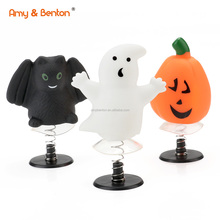 2019 Hot sale Halloween Gift Jump Up Toys  Jump Up Bat & Ghost & Pumpkin