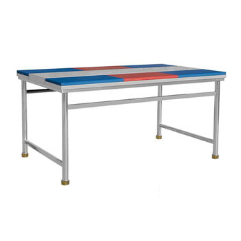 1800mm Commercial Kitchen Working Table Stainless Steel with 6 Chopping Boards