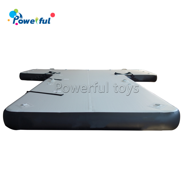 Customized inflatable jetski dock floating pantoon dock for boat