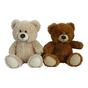 Promotional customized gift soft brown teddy bear plush toy