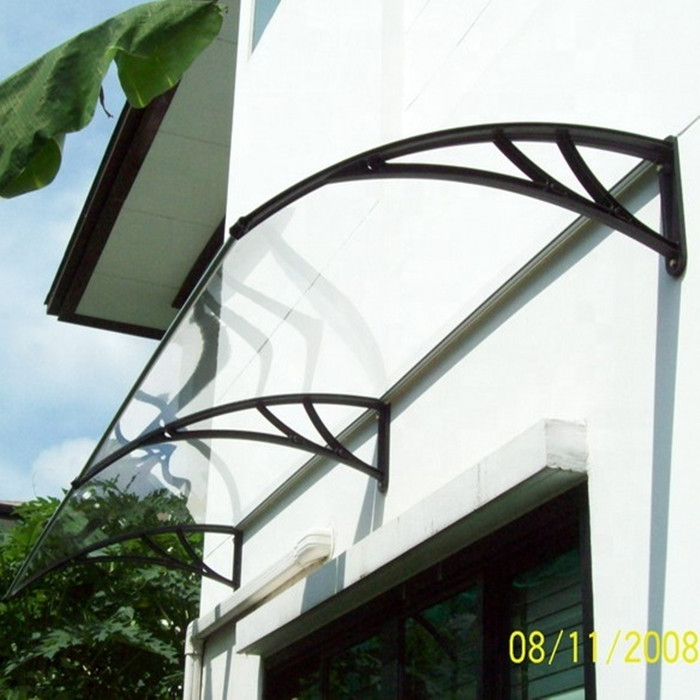 Diy Plastic Awning Bracket Curved Polycarbonate Canopy View Canopy Begreen Freesky Product Details From Guangzhou Begreen Plastic Articles Co Ltd On Alibaba Com