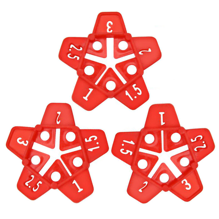 Floor Tile Leveling System Clips and Wedgs Plastic Ceramic Leveling System Tile Tool