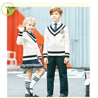 2015 new design primary school uniform boys school sweaters and pullovers