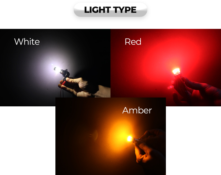 Anycar S01 T15 12V-24V fog lamp motorcycle brake light