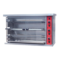Stainless Steel Gas Chicken Rotisseries /Grill Chicken Electric Oven