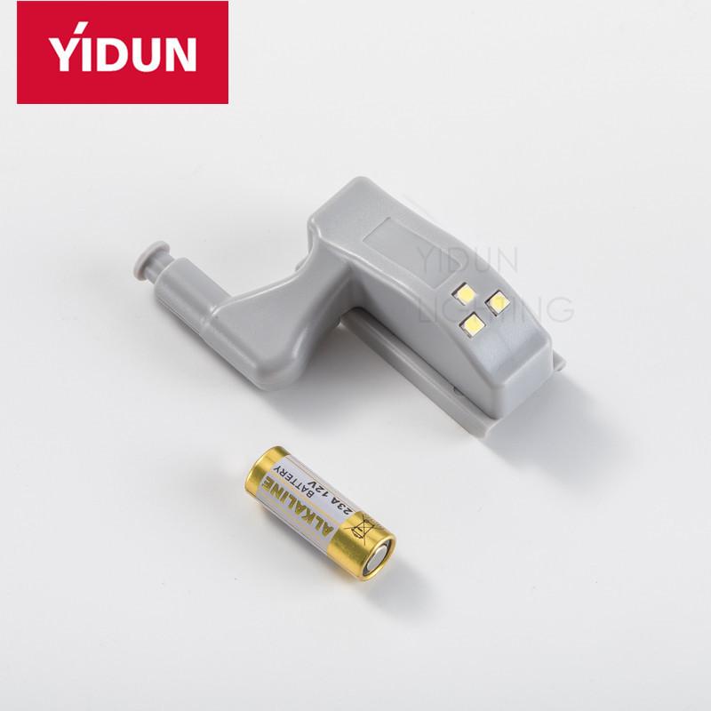 YIDUN Wireless Hinge Light LED Cabinet Lamp For Wardrobe Drawer