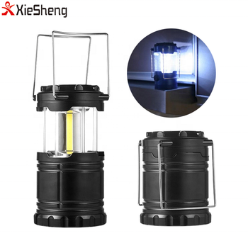 Outdoor Portable Stretch Light Waterproof Camping Lamp Lighting AAA Battery Super Bright Lightweight COB LED Camping Lantern