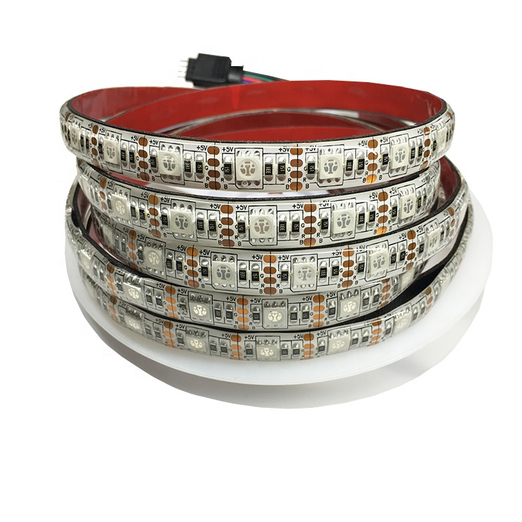 RoHS IP65 IP67 กันน้ำ 3 V 3.3 V 5 V 5050 USB LED Strip Light RGB