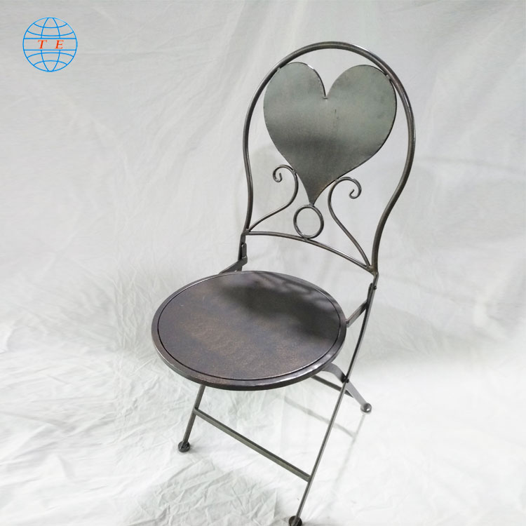 European outdoor furniture leisure garden chair table outdoor metal table and chairs