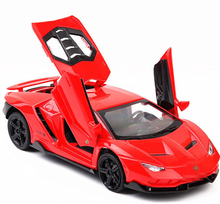 Led Flash LP770 1:32 Lamborghinis in Lega Auto Modello di Auto Sportiva Diecast Suono Super Racing Sollevamento Coda Hot Car Wheel per bambini