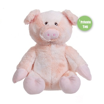 Custom 25cm private label brand wholesale promotional real kids pig stuffed animals plush Coral piggy soft toy