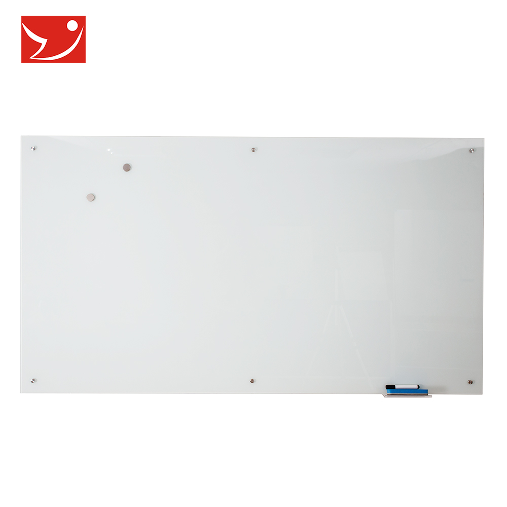 Wall mounted dry erase magnetic tempered glass notice white writing board - Yola WhiteBoard | szyola.net