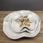 Decoration Household Plate China Ceramic Dish Feature Material Decoration