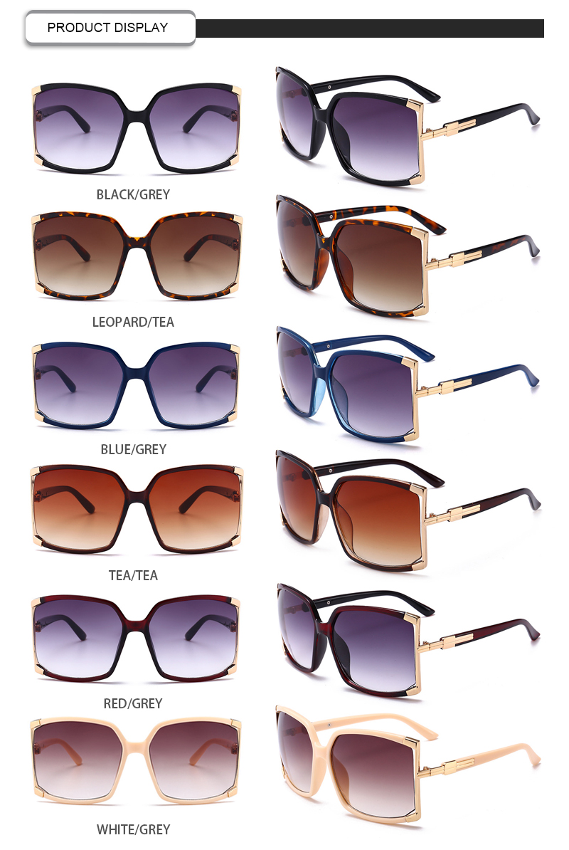 Top gold rim sunglasses for womens Supply for racing-11