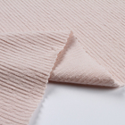 Ottoman comfortable 60%cotton 40%polyester pink fabric rolls for women dress