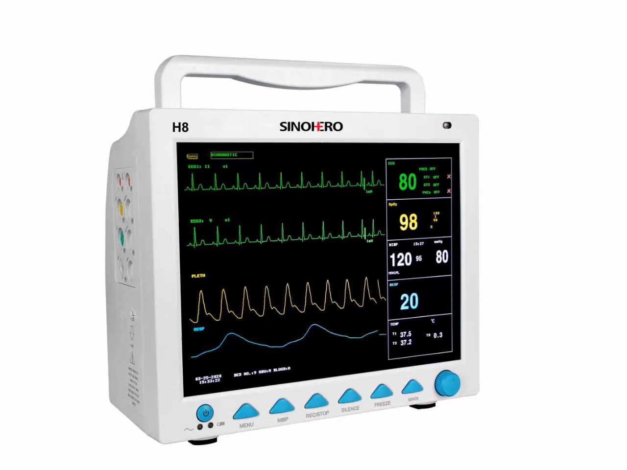 CE ISO 병원 장비 공급 ICU 휴대용 환자 모니터