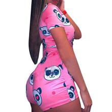 Сексуальная пижама для женщин с длинным рукавом, ночная рубашка, шорты, комбинезон, одежда для сна, спортивный костюм, летние комбинезоны, пи...(Китай)