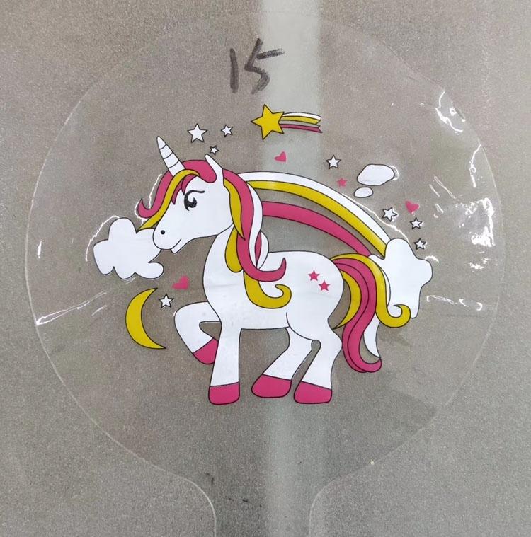 2020 nouveau Produit Personnalisé Imprimé Bobo ballon mickey directe D'usine d'impression claire bobo ballon à bulles avec logo
