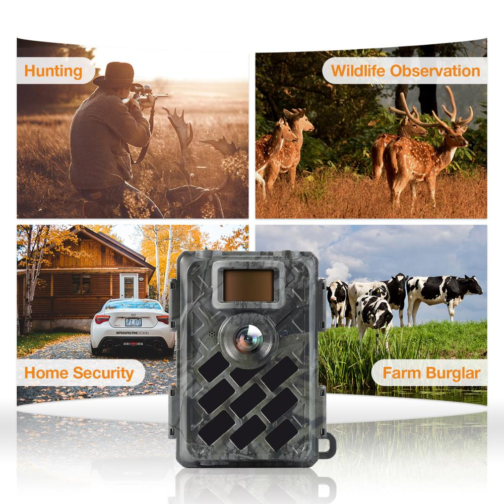 NEW super clear image Leica Sensor night vision outdoor game hunting trail camera