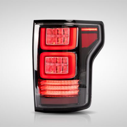 VLAND manufacturer accessory for car for <strong>FORD</strong> F150 2015-2018 taillight with full led and USA Version with Red signal