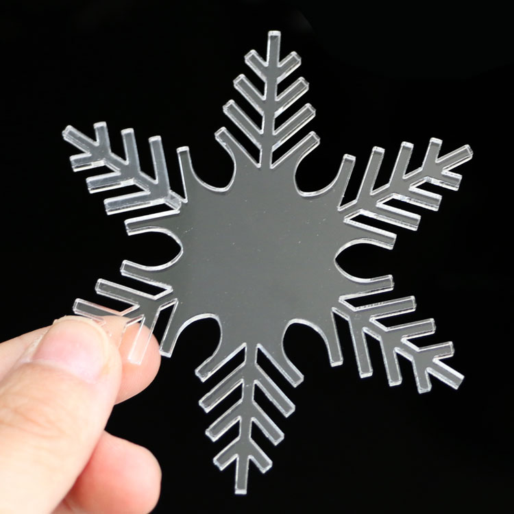 JAYI wholesale custom made clear plastic christmas tree decoration ornaments