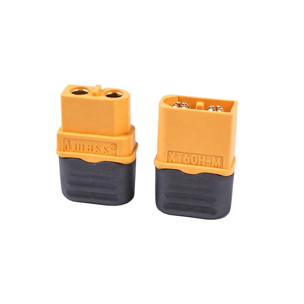Amass XT60H Bullet Connector Female Male XT60 Plug With Sheath Housing For RC Quadcopter FPV Drone Lipo Battery
