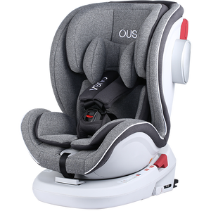 6-Point seat belt fixed stroller convertible baby seat adjustable child seat ISOFIX and top tether 360-degree rotation
