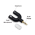 transfer 3.5MM 3 PIN to 4 pin plug 3.5 mm Splitter 1 Male to 2 Female Jackadapter