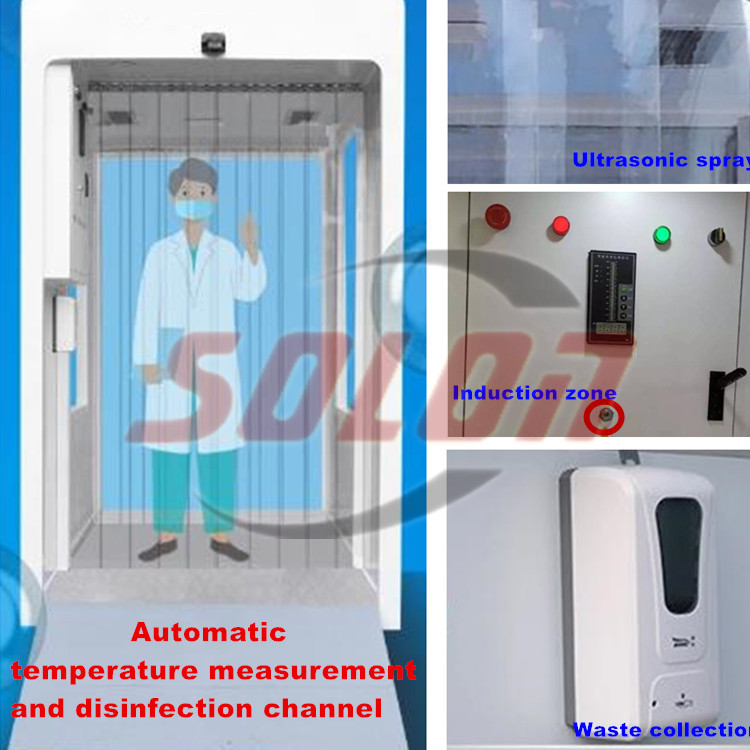 Factory supply spray sanitizing disinfection misting machine hand disinfection