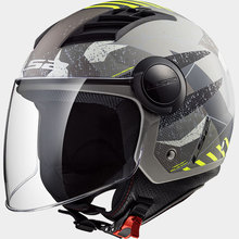 LS2 <span class=keywords><strong>kask</strong></span> hava akımı motosiklet <span class=keywords><strong>kask</strong></span> 3/4 <span class=keywords><strong>açık</strong></span> <span class=keywords><strong>yüz</strong></span> scooter <span class=keywords><strong>yarım</strong></span> <span class=keywords><strong>yüz</strong></span> motosiklet helm capacete kasko LS2 OF562
