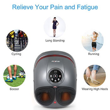 Air Compression Leg Foot Massager Foot And Calf Massager Electric Foot Blood Circulator