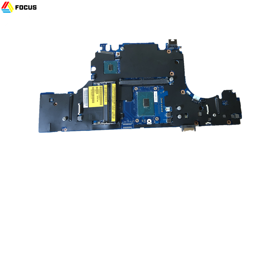 Novo Laptop Original para DELL Precision 7510 Placa de Sistema Motherboard i7-6920HQ LA-C541P P/N 1NJ1T