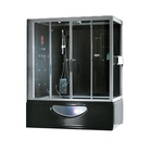 Black Acrylic Shower Cabin Black Shower Room 90x90 Shower Cabin Black