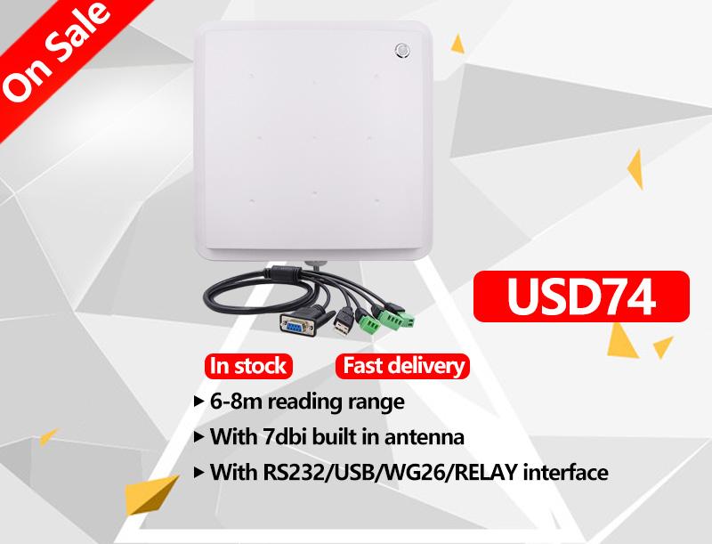 OPEX WG26 RS485 USB 인터페이스 868mhz uhf 8m 장거리 rfid 리더기 arduino