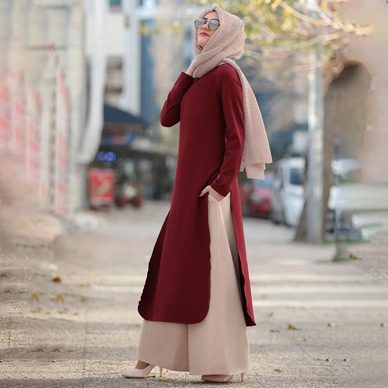 Baju Muslim Wanita, Pakaian Islami Kaftan Abaya Terbaru 2020