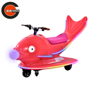 Coin-operated Game Machine Motorbike with Shining Light and Music Flying Fish kiddie Ride