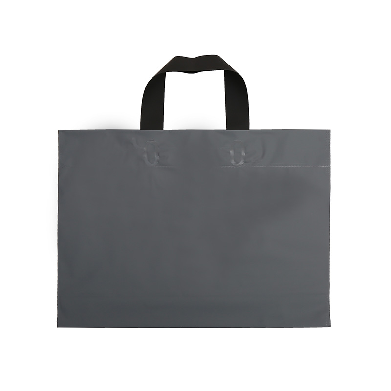 Custom carry reusable eco-friendly ldpe custom own logo print bottom gusset plastic shopping bags with handle