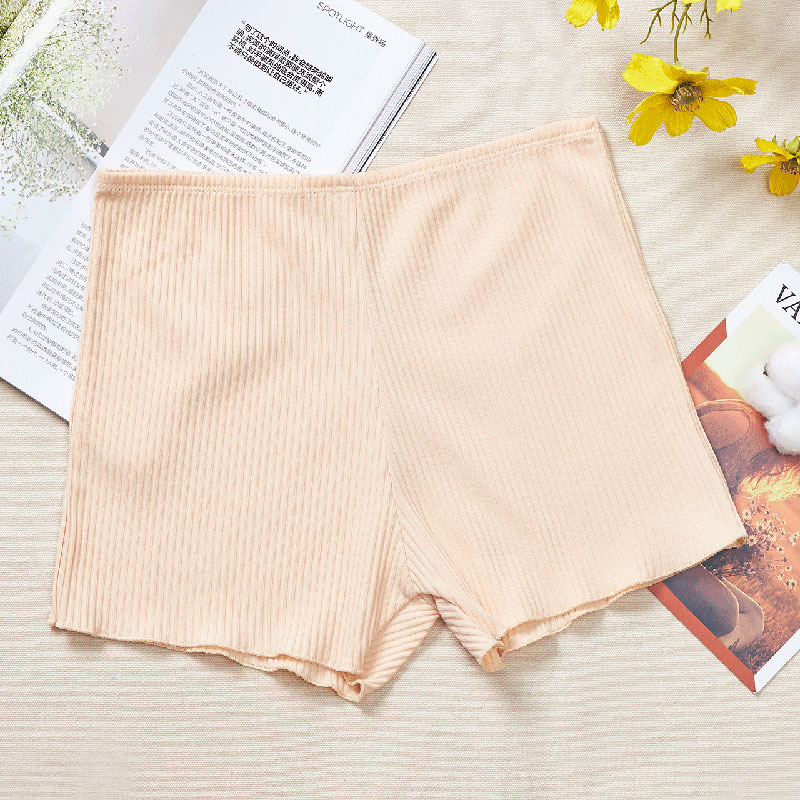 Women's Seamless Boxer Briefs Spiricle Elastic Waistband Safty Underwear Seamless Panties Underwear Ladies Inner Wear